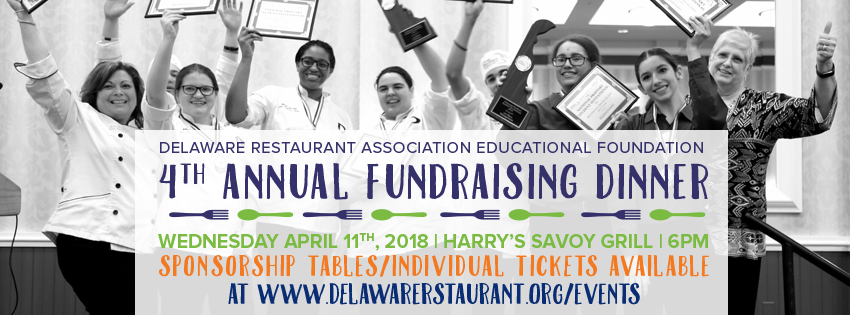 4th Annual DRAEF/ProStart Fundraising Dinner
